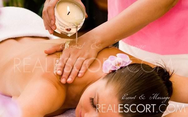 Varm olie massage